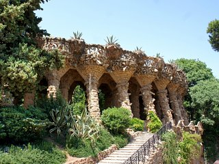 Parc Guell walkway