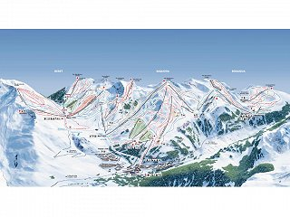 Map of Baqueira