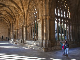 Cloister at la Seu cathedral
